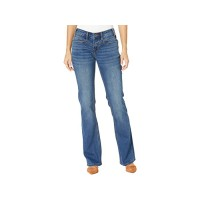 Women's Rock and Roll Cowgirl Riding Bootcut with Bare Back in Medium Wash W7-6159 Medium Wash DPJSV154