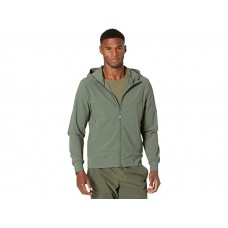 Men Save the Duck Thomas REVE Recycled Lightweight Leisure Zip-Up Jacket Cactus Green BRMCR933