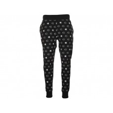 Men's Champion Reverse Weave® Jogger - Tossed C Logos All Over Print C Logo Spaced Black RIABS217