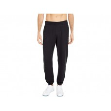 Men's Reebok Training Essentials Logo French Terry Joggers Black DHDCY592