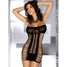 Black Stretch Chemise Cut Out Sexy Lingerie For Women high quality #03570696846